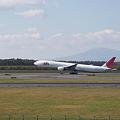 写真: JAL機 離陸