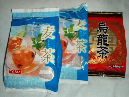 麦茶&烏龍茶