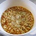 インスタントの袋麺をレンジで調理…