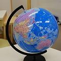 Photos: ビーチボール地球儀