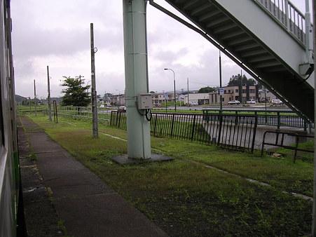 早来駅ホーム1