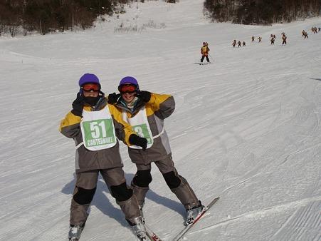 太平中スキー実習 (8)
