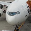 写真: JAL機