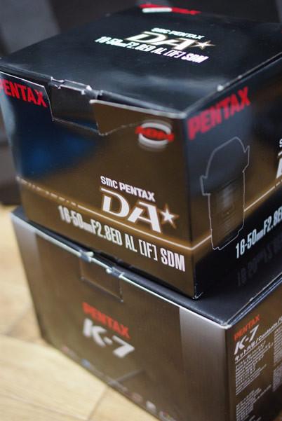 PENTAX K-7 & smc PENTAX-DA★16-50mm