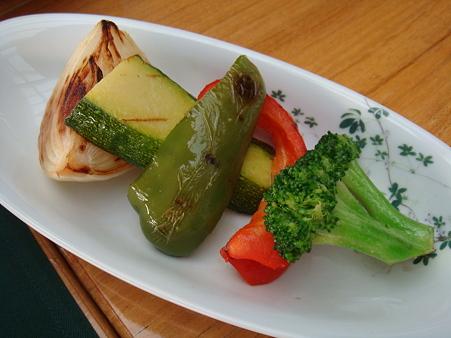本日のお野菜のグリル@ヴィラデスト