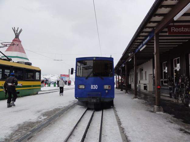 スイス ユングフラウヨッホ 登山鉄道