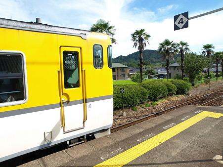 キハ47山口線(宮野駅)1