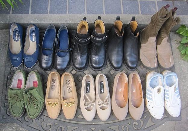 今秋の私の処分靴