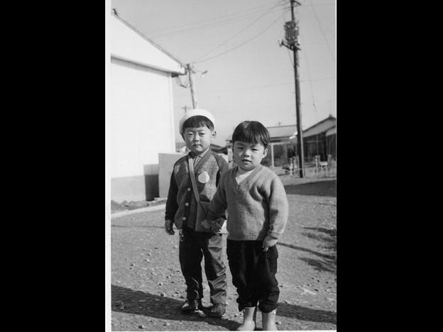 ■弟の友達のわたる君と弟、...