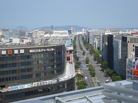 20110429 博多駅阪急の屋上