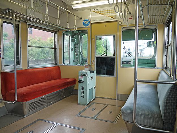 岳南鉄道 7000形電車 車内