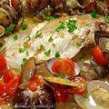 写真: 鯛のアクアパッツァ