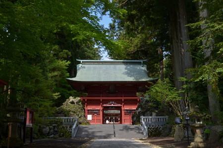 東口本宮浅間神社・神門