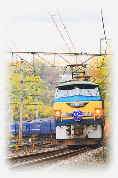 Photos: 東海道本線 函南-三島 寝台特急 富士・はやぶさ