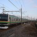 東北本線 普通列車 E231系