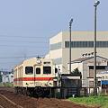 Photos: 力走! 関東鉄道 キハ350形