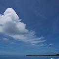 雲のお見送り?