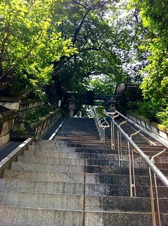 7月の亀ヶ岡八幡宮2