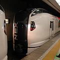 写真: N'EX 成田エクスプレス E259系[東京駅での分割シーン]