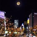 青葉通・満月の夜