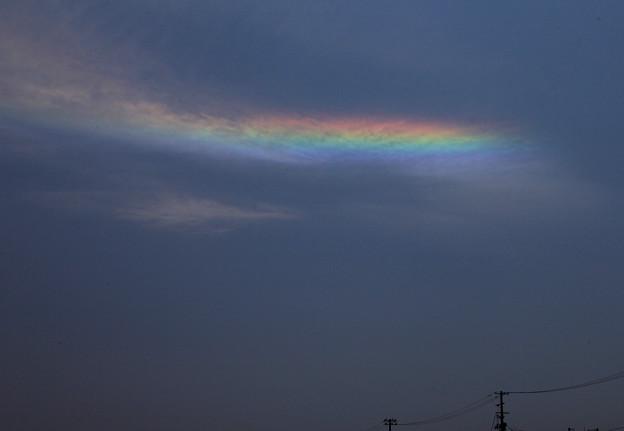 Photos: 彩雲の美しさ