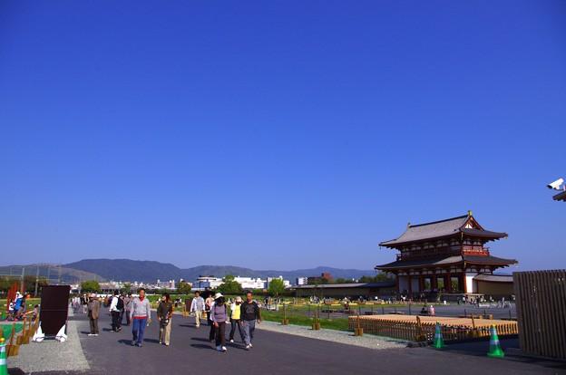 平城京跡 朱雀門