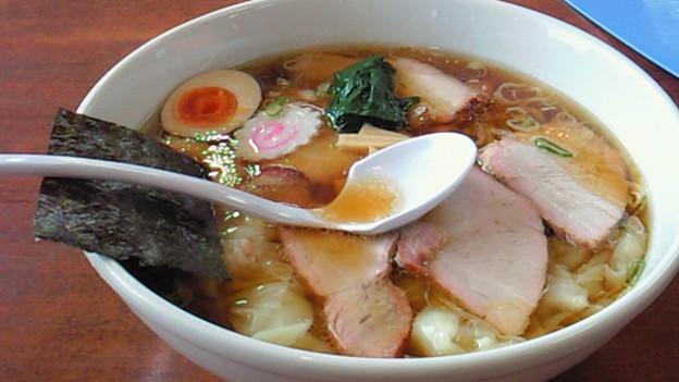 チャーシューワンタン麺大盛  by白河ラーメン