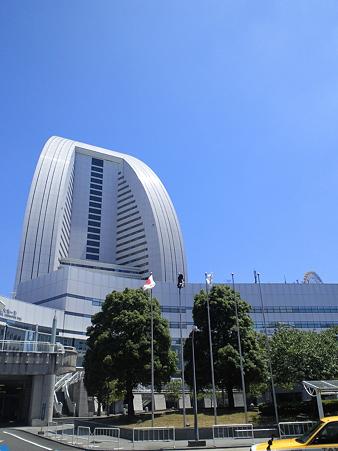快晴の横浜!
