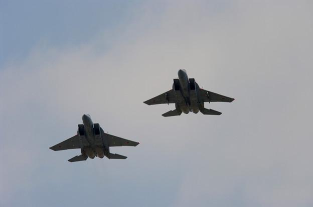 Photos: F-15・フォーメーションアプローチ(2)
