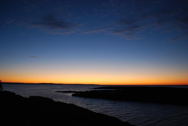 Dawn of Bailey Island 10-10-10