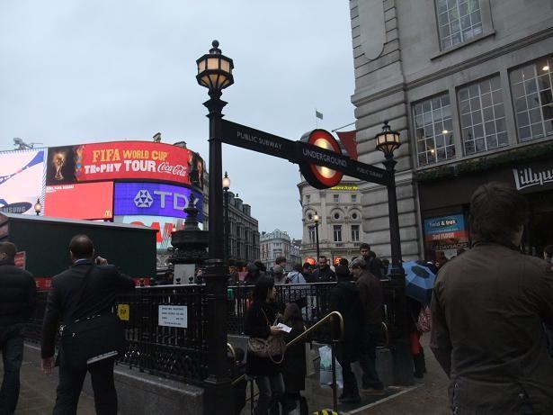 1 ロンドン ピカデリーサーカス