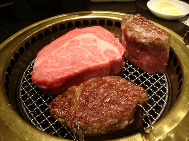 塊肉祭り,焼いてます3