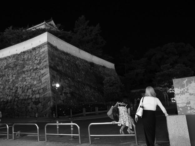 福山駅 夜の情景