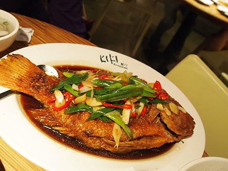 白身魚美味しかったー!!