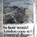 Photos: もしロンドンで地震があったら