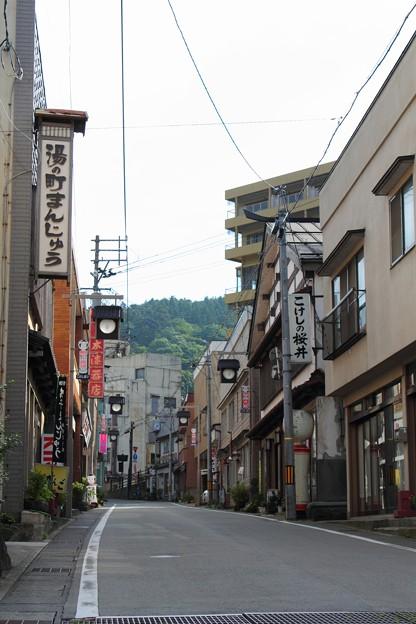 鳴子温泉街