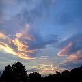 夕焼けの雲2