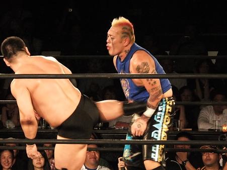 NOSAWA論外vs高木三四郎 東京愚連隊自主興行 東京LOVE2 ANOTHER CHANCE 新宿FACE 20110928 (6)