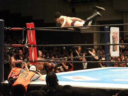 新日本プロレス BEST OF THE SUPER Jr.XIX 準決勝戦 Aブロック1位 PAC vs Bブロック2位 田口隆祐 (6)