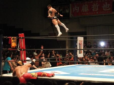 新日本プロレス BEST OF THE SUPER Jr.XIX 高橋広夢&BUSHI&KUSHIDAvsブライアン・ケンドリック&アレックス・コズロフ&ロッキー・ロメロ (3)