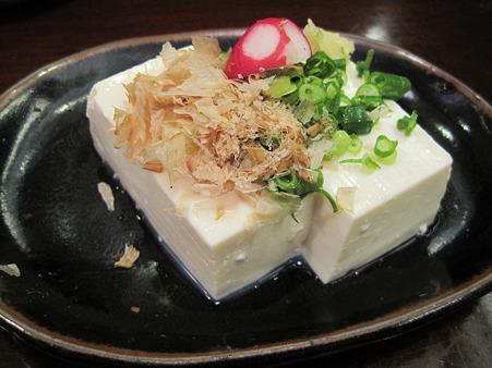 お店で作っている豆腐