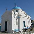 Photos: 青い丸屋根の教会
