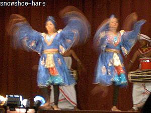 マユラの踊り
