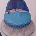 お産祝いケーキ