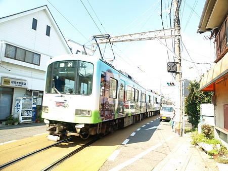 江ノ島→腰越の併用軌道区間38
