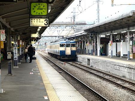 115系中央本線(大月駅)9