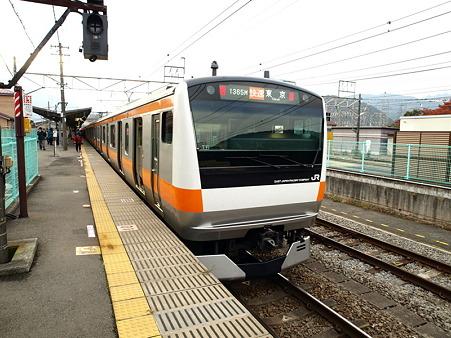 E233系中央本線(大月駅)2