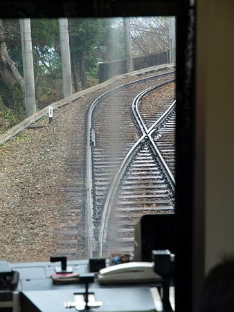 箱根登山電車の車窓(大平台駅→宮ノ下駅)10