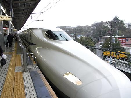 N700系(新横浜駅)2