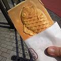 Photos: まな板の鯛焼きなう